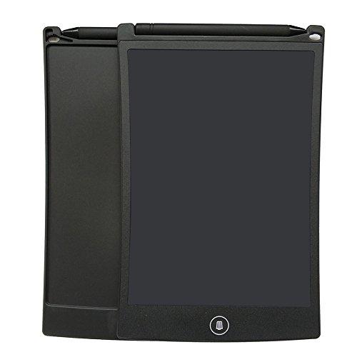 EZLIZE Wiederbeschreibbares elektronisches Notizbuch 8,5-Zoll-LCD-Schreibens-Tablet-Reißbrett für die Kinder, die kritzelnde Familie lernen, die Mitteilung-Einkaufsliste-Arbeitsaufzeichnung lassend (noir)