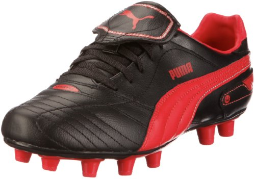 Puma Esito Finale Special Pack 102317, Herren Sportschuhe - Fußball, Schwarz (black-rosso corsa-puma silver 02), EU 39 (UK 6) (US 7)