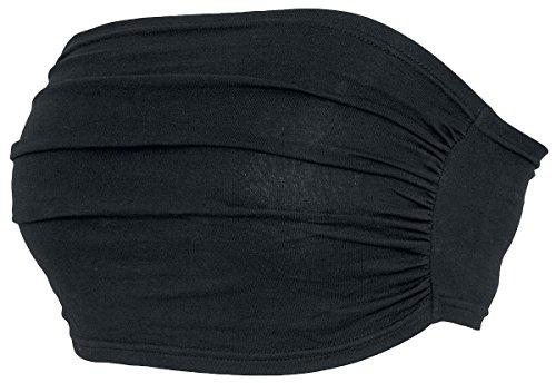Black Premium by EMP Bandeau Top Top a fascia donna nero M