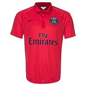 Nike - Psg maillot lig cham - Polo de football mode - Rouge - Taille XL