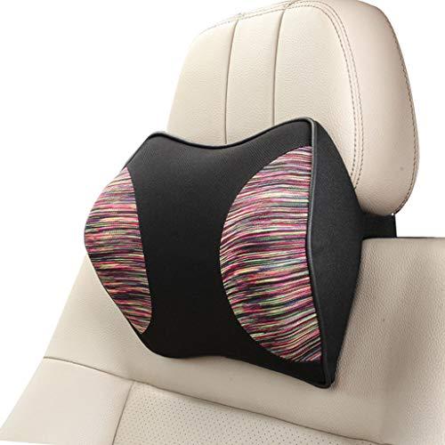 Dtzw cuscino per auto poggiatesta per collo, cuscino in cotone cuscino sedile cervicale auto cuscino sede cuscino (d)