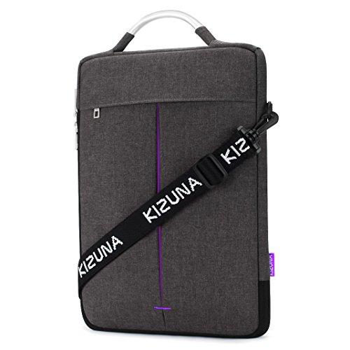 "kizuna Laptop Bolsa Sleeve case Resistente al agua resistente a los golpes Funda para ordenador portátil Dunkelgrau / Lila Einschaltbild 13.3 Zoll / 13"" MacBook Air"