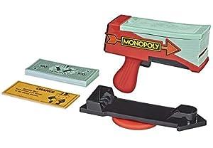 Hasbro Monopoly Cash Grab Game Estuche de Juego - Juegos y Juguetes de Habilidad/Activos (Estuche de Juego, Negro, Rojo, De plástico, 8 año(s), Adultos y niños, Niño/niña)