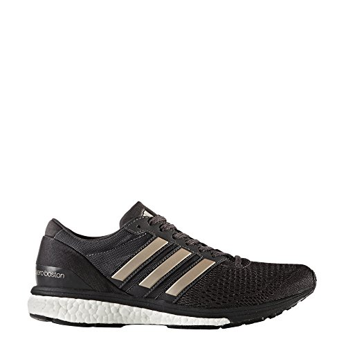 adidas Adizero Boston 6, Scarpe da Corsa Donna Nero (Utility Black/platin Metallic/core Black)