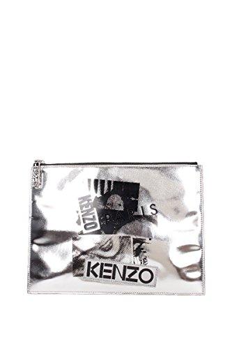 Borse a Mano Kenzo Donna - Pelle (F182SA607) Argento