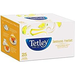 Tetley Flavour Tea Bags, Lemon, 25s (50g)