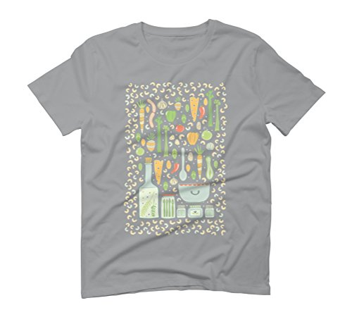 Gather Men's Graphic T-Shirt - Design By Humans Opal