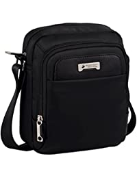 Beverly Hills Polo Club 5095251 Bolso Bandolera, 3.83 Litros, Color Negro