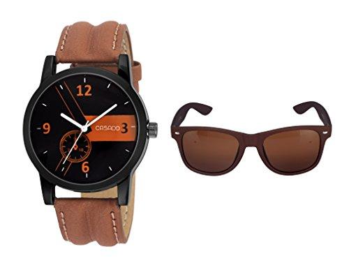 CASADO Analogue Black Dial Men's And Boy's Watch – W.A.T.A.C.H.= 160W+2S image - Kerala Online Shopping