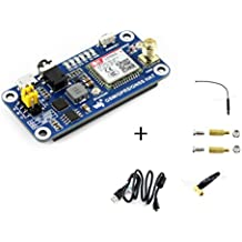 Raspberry Pi GSM/GPRS/GNSS Bluetooth HAT Expansion Board GPS Module SIM868 Compatible With Raspberry Pi 2B 3B Zero Zero W Support Make a Call,Send Messagess,Data Transfer from Waveshare