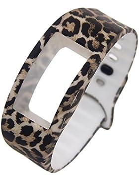 Ouneed® Uhrenarmbänder Armband, Luxus Silikon Ersatz Band Uhrenarmband für Samsung Gear Fit 2 SM-R360 Armband