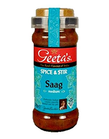 "Geeta´s Saag ""medium"" Spice & Stir 350g"