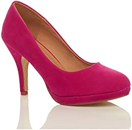 Amazon.co.uk: Pink - Court Shoes / Women&39s Shoes: Shoes &amp Bags