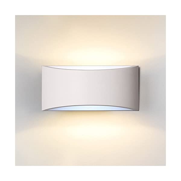 Lighting DECKEY Wall Light Indoor LED Up and Down Lamp Uplighter Downlighter 3.8w Warm