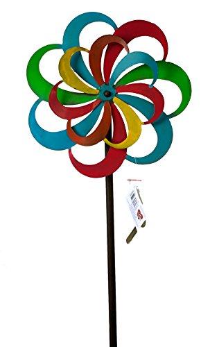 moulin-a-vent-jardin-fer-antikbraun-avec-helice-multicolore-antikfarben-roulement-a-bille-tourne-man
