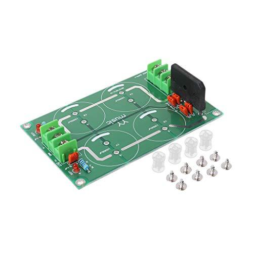 CADANIA Dual Power Gleichrichter Filter Netzteil Modul Leere Platine Für TDA8920 LM3886 TDA7293 Verstärker - Modular Kabel Tester