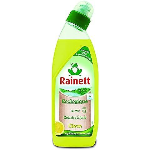 RAINETT WC Gel Limón ecológico de la etiqueta ecológica 750 ml Juego de 4