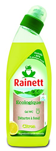 Rainett  Gel WC Ecologique Citron  Ecolabel  750 ml  Lot de 4