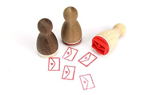 Stemplino Mini Stempel Brief (Brief Stempel)