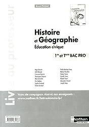 Histoire- Géographie- Education civique - 1re / Term Bac Pro