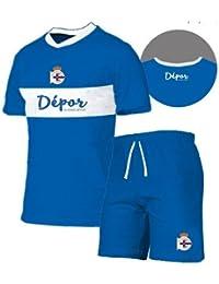 Soricastel Pijama Real Club Deportivo de La Coruña Adulto Verano ...