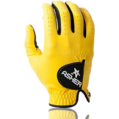 Donna Asher-Guanto da Golf per tutte le stagioni, Giallo - Sunshine Yellow