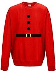 Direct 23 Ltd Santa & Elf Adults Sweatshirt