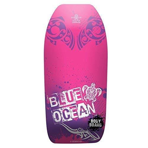 Lively Moments Bodyboard Blue Ocean ca. 102 cm / Body Board / Surfboard / Schwimmbrett in pink