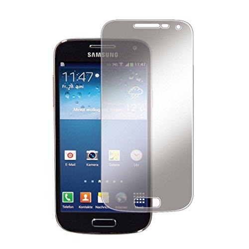 Hama Displayschutzfolie (für Samsung Galaxy S4 mini, S4 mini Value Edition, S4 mini Plus einfache Anbringung, Ultra-HD Qualität, passgenauer Präzisions-Laser-Cut inkl. antistatischem Mikrofasertuch)