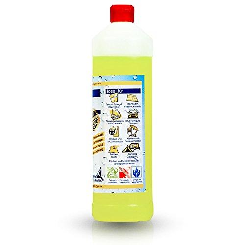 EASY Universal-Reiniger Konzentrat 1.000 ml, Profi-Reinigungsmittel, Glasreiniger, WC Reiniger, Badreiniger & Küchenreiniger für alle glatten Flächen - tierversuchsfrei - 2