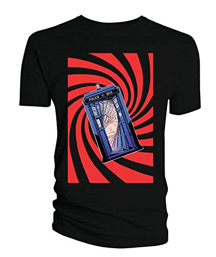 Preisvergleich Produktbild Dr. Who: TARDIS Swirl [T-Shirt / Größe S] [Zubehör]
