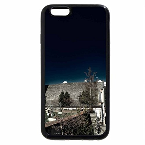 iPhone 6S / iPhone 6 Case (Black) church and cemetery in an alpine town