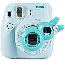 Woodmin Coniglio Ancora Close Up selfie Lense Für Fuji Mini8 8+ Mini 9 Mini 7s Mini KT Kamera (verde)