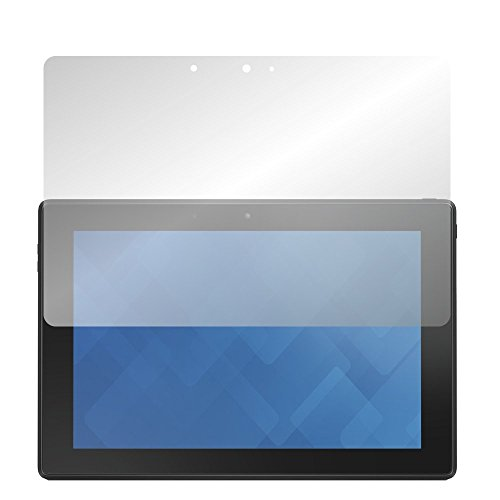 Slabo 2 x Displayschutzfolie Dell Venue 10 Pro Displayschutz Schutzfolie Folie Crystal Clear unsichtbar Made IN Germany
