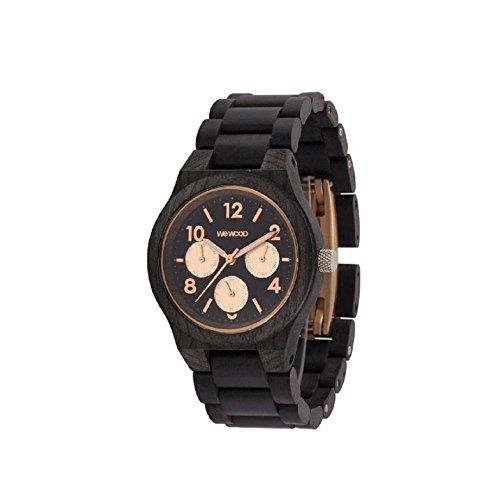 Reloj WeWood Kyra 70371313000al cuarzo (batería) madera quandrante Marrón Correa madera