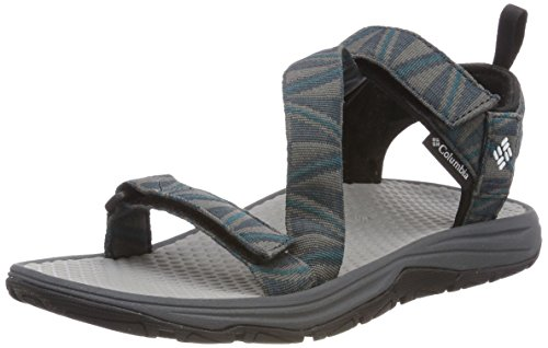 Columbia Wave Train, Sandali da Arrampicata Uomo, Grigio (Graphite, White 053), 47 EU