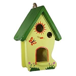 1Plus Vogelhaus Malin Vogelfutterhaus Vogel Futterhaus Nistkasten Vogelhäuschen