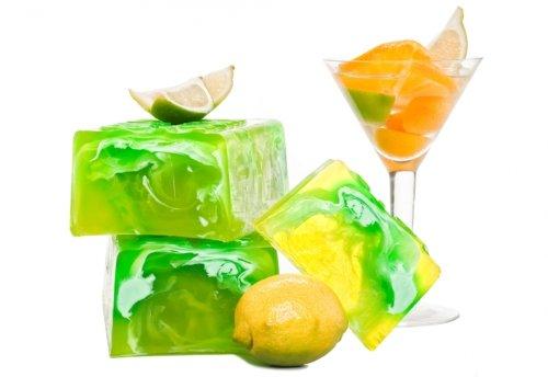 Handgemachte Seife, Naturseife Zitrusfrüchte Cocktail ca.100g