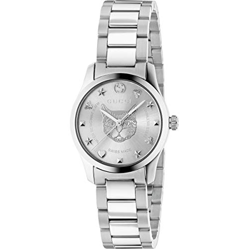 Gucci YA126595 Silver STEEL 316 L Woman Watch