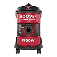 Hoover Powerforce Tank Vacuum Cleaner, Red, 18 Liters, 1900W, HT87-T1-ME