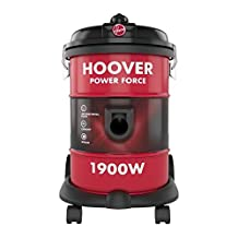 Hoover 1900W 18 Liters Powerforce Tank Vac Vacuum Cleaner, HT87-T1-ME, Red, 1 Year Brand Warranty