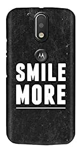 Meet Arts motoG4_Rd35 Back Cover for Motorola G4 Plus