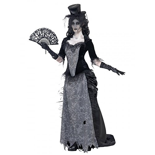 Costume fantasma anni 20 donna Halloween S
