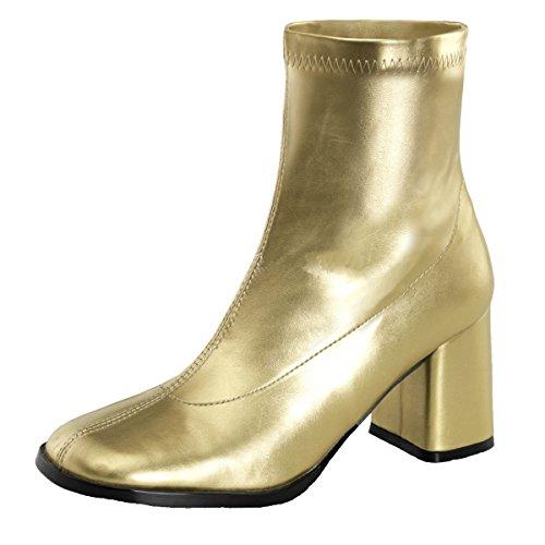 Stiefeletten gold, Damen, Gold (gold) Gold (Gold)