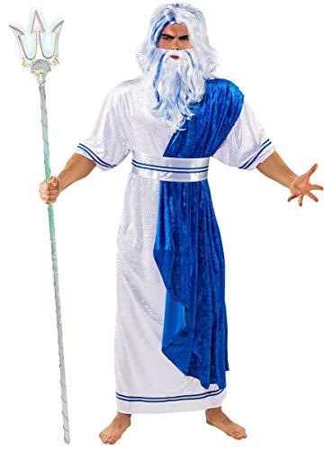 Orlob Fasching Kostüm Wassermann Poseidon Neptun - König Triton Kostüm Kinder