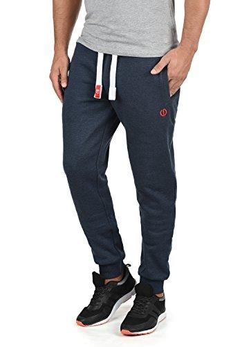 !Solid BennPant Herren Sweatpants Jogginghose Sporthose Mit Fleece-Innenseite Und Kordel Regular Fit, Größe:L, Farbe:Insignia Blue Melange (8991)