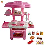 Toy Arena Luxury Battery Operated Kitchen Set- For Kids-32 Pcs
