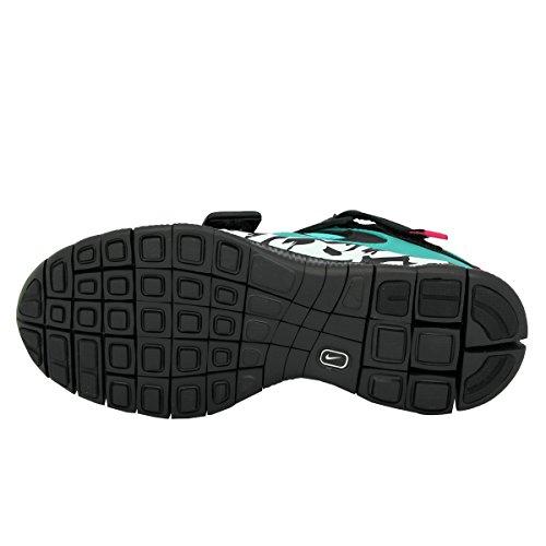 Nike Free Huarache Carnivore Sp, Chaussures de Running Entrainement Homme, Noir, 40 EU Violet / Argenté / Noir (Dp Emrld / Pr Prpl-Mtllc Slvr-Bl)