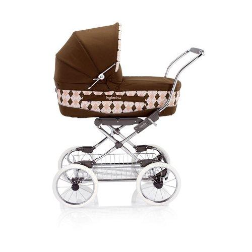 *Stil und Eleganz! Retro Kinderwagen Pram Vittoria Inglesina Ballantine Rosa*