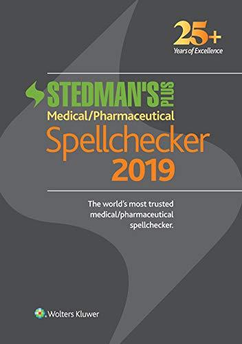 Stedman's Plus 2019 Medical/Pharmaceutical Spellchecker (Standard)